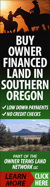 Buy Owner Financed Land in Southern Oregon
